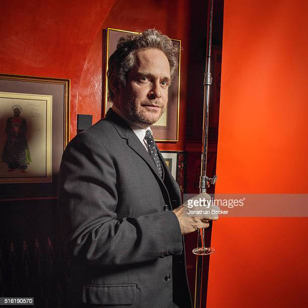 Actor Tom Hollander is photographed at the Charles Finch and Chanel's PreBAFTA on February 7 2015 in London England PUBLISHED IMAGE