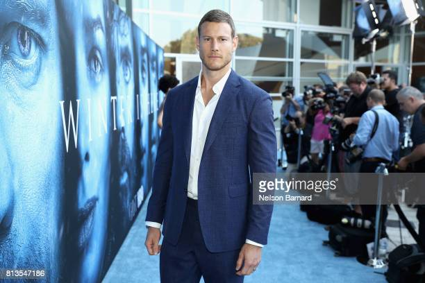 Actor Tom Hopper attends the premiere of HBO's 'Game Of Thrones' season 7 at Walt Disney Concert Hall on July 12 2017 in Los Angeles California