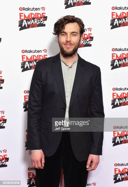 Actor Tom Hughes attends the Rakuten TV EMPIRE Awards 2018 at The Roundhouse on March 18 2018 in London England
