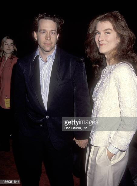 Actor Tom Hulce and guest attend the 'Academy of Motion Picture Arts and Sciences' 'Oscar's Greatest Moments' Retrospective' on January 15 1992 at...