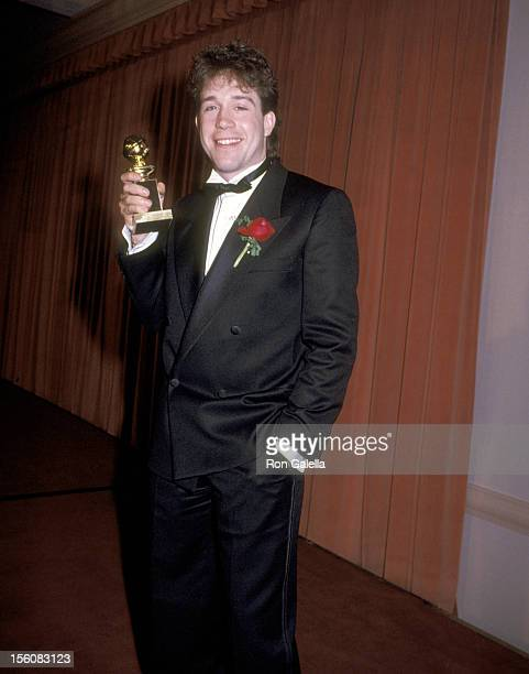 Actor Tom Hulce attends the 42nd Annual Golden Globe Awards on January 26 1985 at Beverly Hilton Hotel in Beverly Hills California