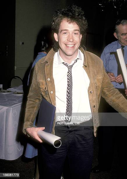 Actor Tom Hulce attends the 57th Annual Academy Awards Nominees Luncheon on March 12 1985 at Beverly Hilton Hotel in Beverly Hills California