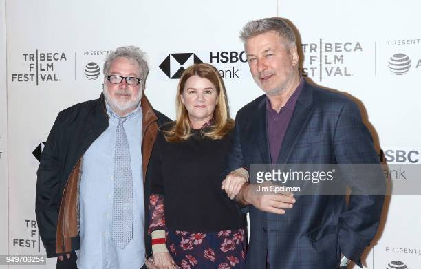 Actor Tom Hulce Mare Winningham and Alec Baldwin attend the premiere of 'The Seagull' during the 2018 Tribeca Film Festival at BMCC Tribeca PAC on...