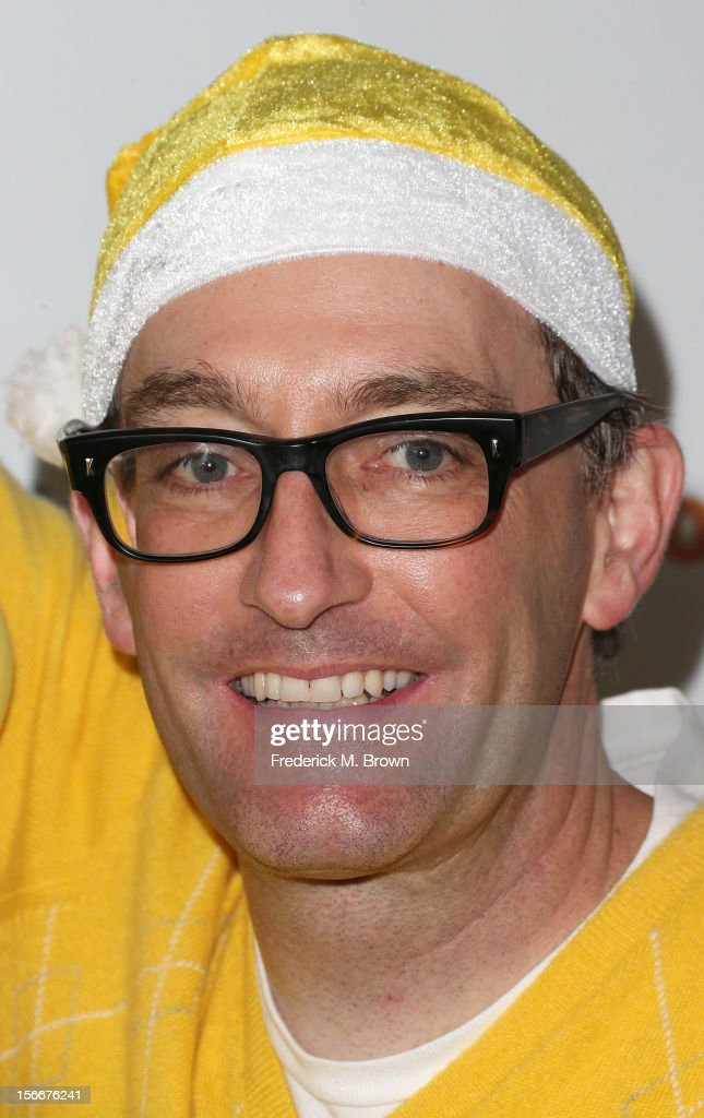 Actor Tom Kenny attends Nickelodeon's Spongebob Holiday Extravapants At The Grove on November 18, 2012 in Los Angeles, California.