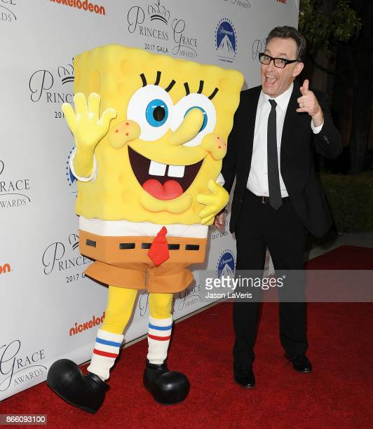 Actor Tom Kenny attends the 2017 Princess Grace Awards gala kick off event at Paramount Pictures on October 24 2017 in Los Angeles California