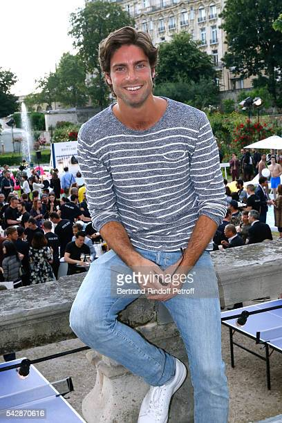 Actor Tom Leeb attends the Berluti Menswear Spring/Summer 2017 show as part of Paris Fashion Week on June 24 2016 in Paris France