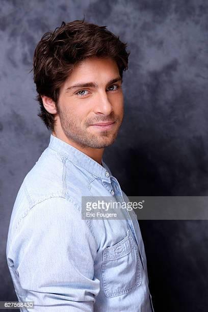 Actor Tom Leeb Photographed in PARIS