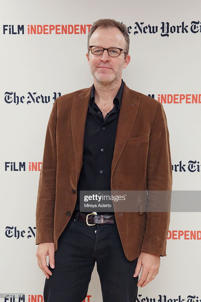 Actor Tom McCarthy attends the Film Independent NYC 'Live Read' at NYU Skirball Center on October 7, 2016 in New York City.