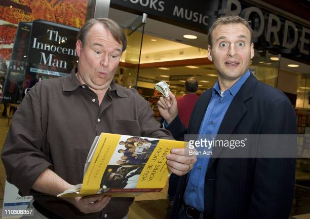 Actor Tom McGowan with Phil Rosenthal Creator and Executive Producer 'Everybody Loves Raymond'
