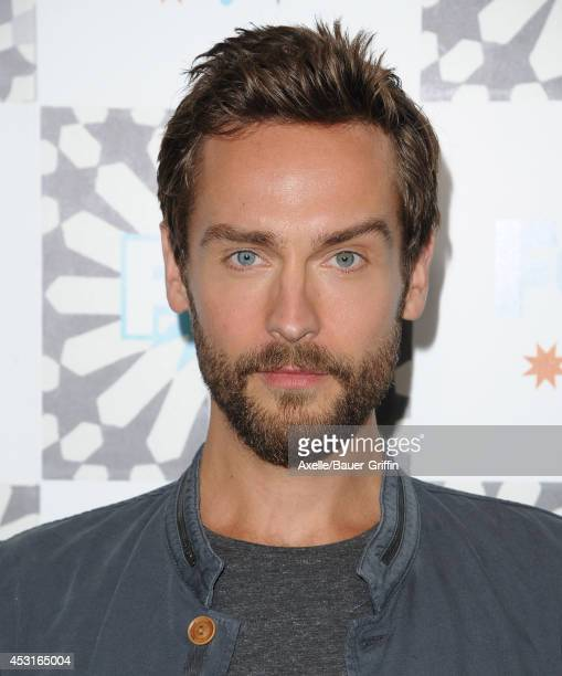 Actor Tom Mison arrives at the FOX AllStar Party 2014 Television Critics Association Summer Press Tour at Soho House on July 20 2014 in West...