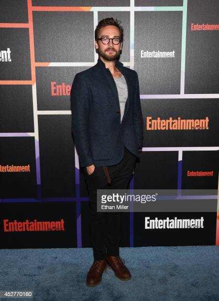 Actor Tom Mison attends Entertainment Weekly's annual ComicCon celebration at Float at Hard Rock Hotel San Diego on July 26 2014 in San Diego...