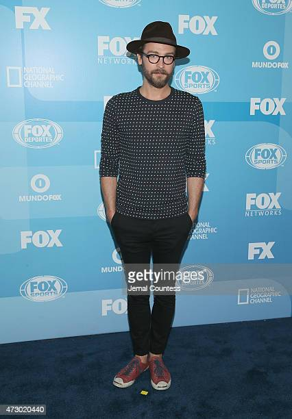 Actor Tom Mison attends the 2015 FOX programming presentation at Wollman Rink in Central Park on May 11 2015 in New York City