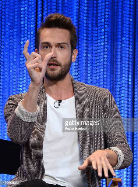 Actor Tom Mison on stage at The Paley Center for Media's PaleyFest 2014 Honoring 'Sleepy Hollow' at Dolby Theatre on March 19 2014 in Hollywood...