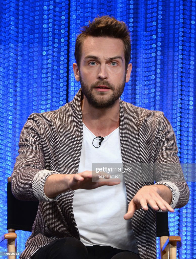 Actor Tom Mison on stage at The Paley Center for Media's PaleyFest 2014 Honoring 'Sleepy Hollow' at Dolby Theatre on March 19, 2014 in Hollywood, California.