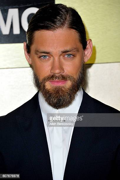 Actor Tom Payne attends AMC Networks' 68th Primetime Emmy Awards afterparty celebration at BOA Steakhouse on September 18 2016 in West Hollywood...