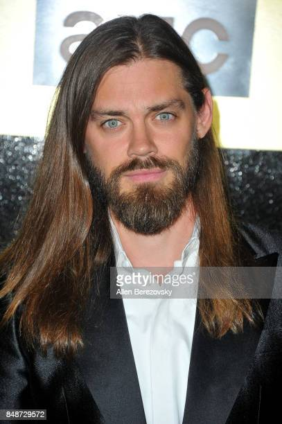 Actor Tom Payne attends AMC Networks 69th Primetime Emmy Awards after party celebration at BOA Steakhouse on September 17 2017 in West Hollywood...