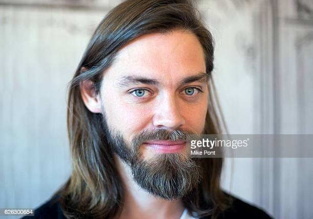Actor Tom Payne attends the Build Series to discuss The Walking Dead at AOL HQ on November 28 2016 in New York City
