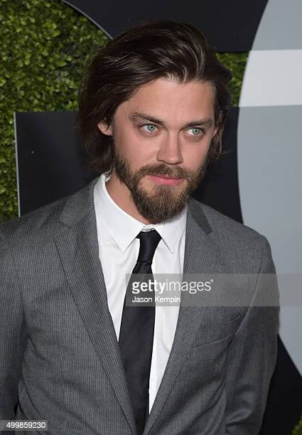 Actor Tom Payne attends the GQ 20th Anniversary Men Of The Year Party at Chateau Marmont on December 3 2015 in Los Angeles California