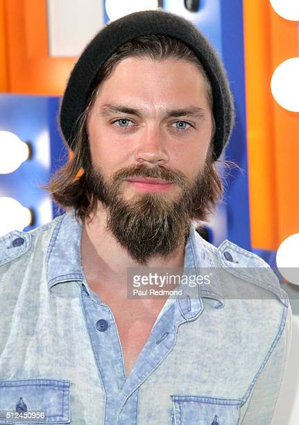 Actor Tom Payne attends the LIFTArt 2016 2nd Annual Art Auction at Quixote Studios on February 25 2016 in Los Angeles California
