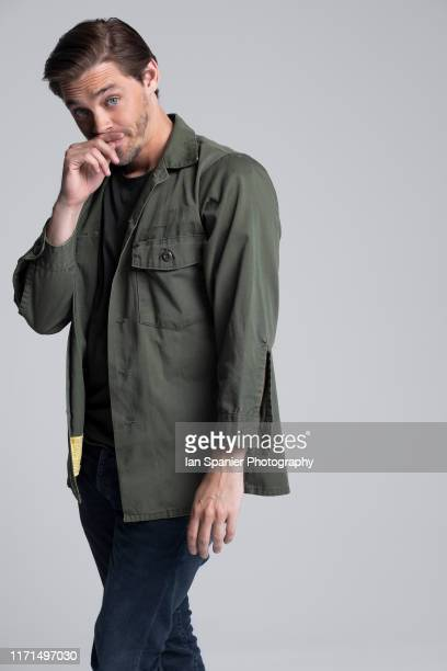 Actor Tom Payne is photographed for EMMY Magazine on June 28 2019 in Los Angeles California