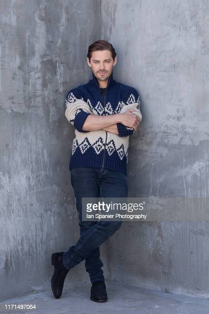 Actor Tom Payne is photographed for EMMY Magazine on June 28 2019 in Los Angeles California PUBLISHED IMAGE