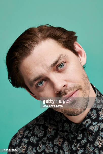 Actor Tom Payne is photographed for Entertainment Weekly Magazine on February 27, 2020 at Savannah College of Art and Design in Savannah, Georgia....