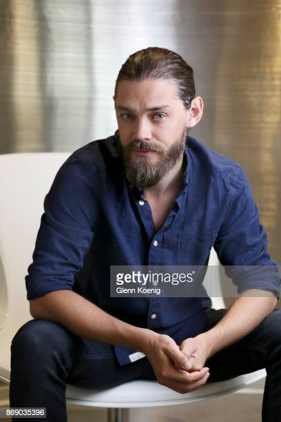 Actor Tom Payne is photographed for Los Angeles Times on August 10 2017 in Los Angeles California PUBLISHED IMAGE CREDIT MUST READ Glenn Koenig/Los...