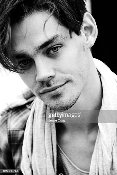 Actor Tom Payne is photographed for Wonderland magazine on March 29 2013 in London England