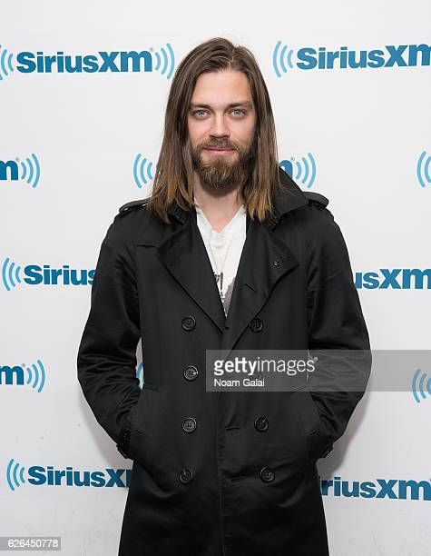 Actor Tom Payne visits the SiriusXM Studio on November 29 2016 in New York City