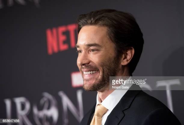 Actor Tom Pelphrey attends Marvel's 'Iron Fist' New York screening at AMC Empire 25 on March 15 2017 in New York City