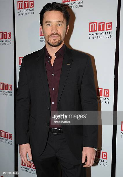 Actor Tom Pelphrey attends the 'Fool For Love' Broadway opening night after party at Urbo NYC on October 8 2015 in New York City