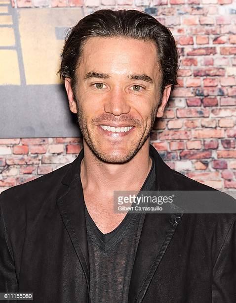 Actor Tom Pelphrey attends the 'Luke Cage' New York Premiere at AMC Magic Johnson Harlem on September 28 2016 in New York City