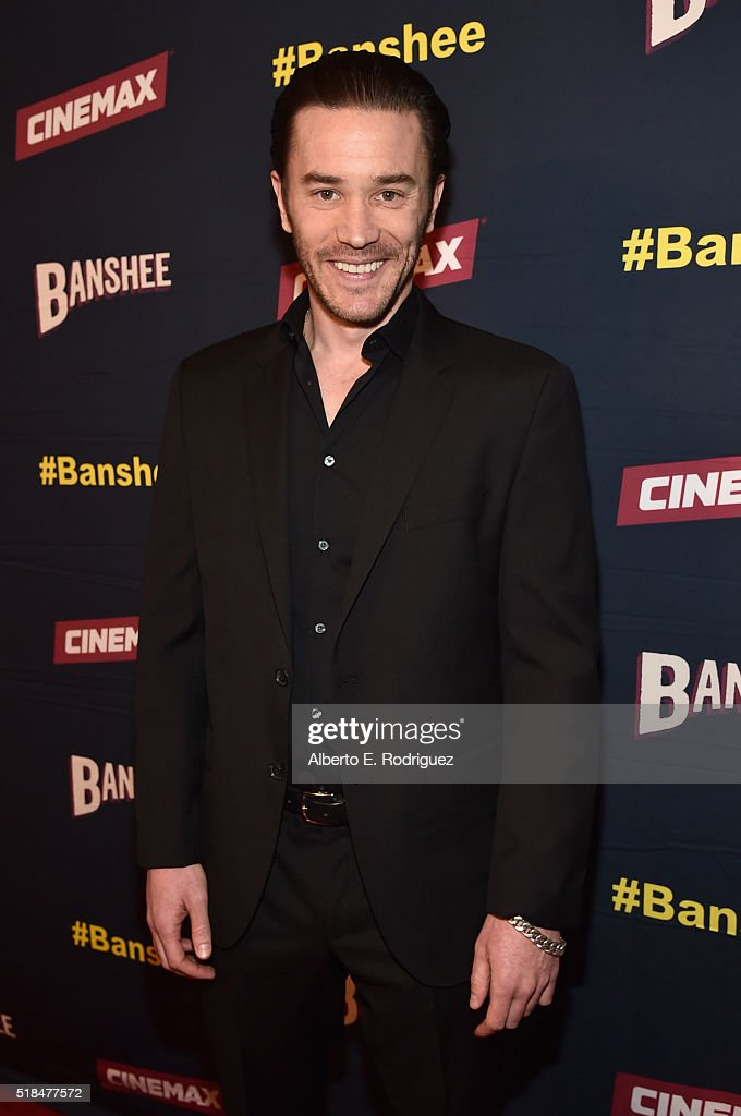 "Premiere Of Cinemax's ""Banshee"" 4th Season - Red Carpet : News Photo"