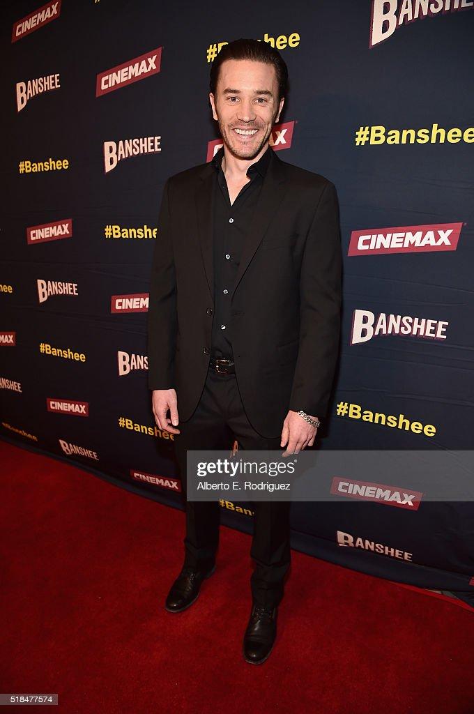 "Premiere Of Cinemax's ""Banshee"" 4th Season - Red Carpet : News Photo"