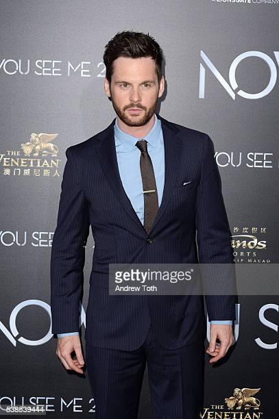 Actor Tom Riley attends the Now You See Me 2 world premiere at AMC Loews Lincoln Square 13 theater on June 6 2016 in New York City