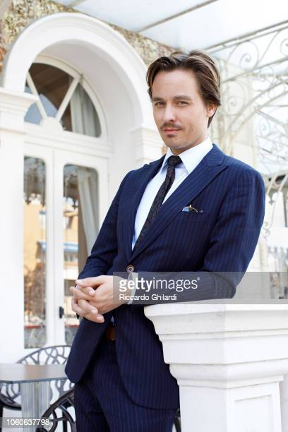 Actor Tom Schilling is photographed for Self Assignment on September 2018 in Venice Italy