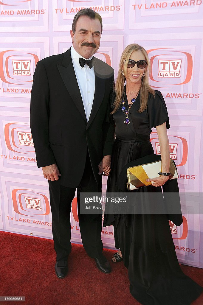 Actor Tom Selleck and wife arrive at the 7th Annual TV ...