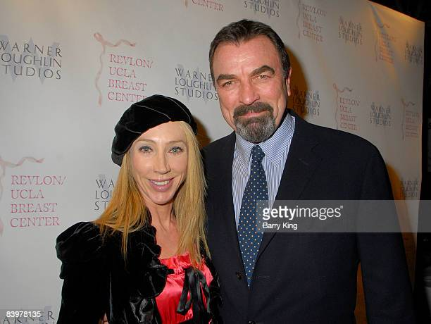 Actor Tom Selleck and wife Jillie Mack attend the Warner Loughlin Studios Holiday Charity Event hosted by Venice Magazine held at Skybar at Mondrian...