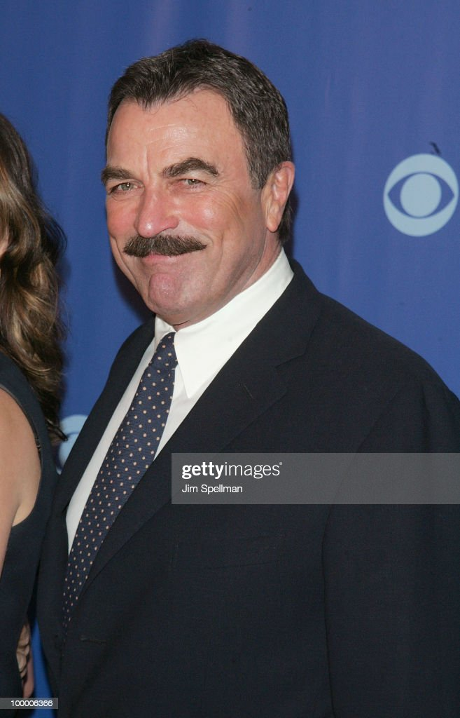Actor Tom Selleck attends the 2010 CBS Upfront at The Tent at Lincoln Center on May 19, 2010 in New York City.