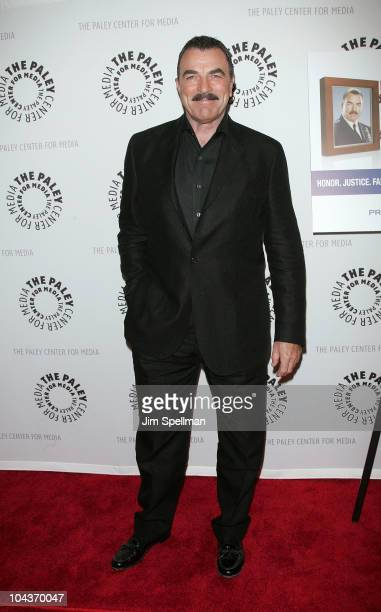 Actor Tom Selleck attends the Blue Bloods screening at The Paley Center for Media on September 22 2010 in New York City