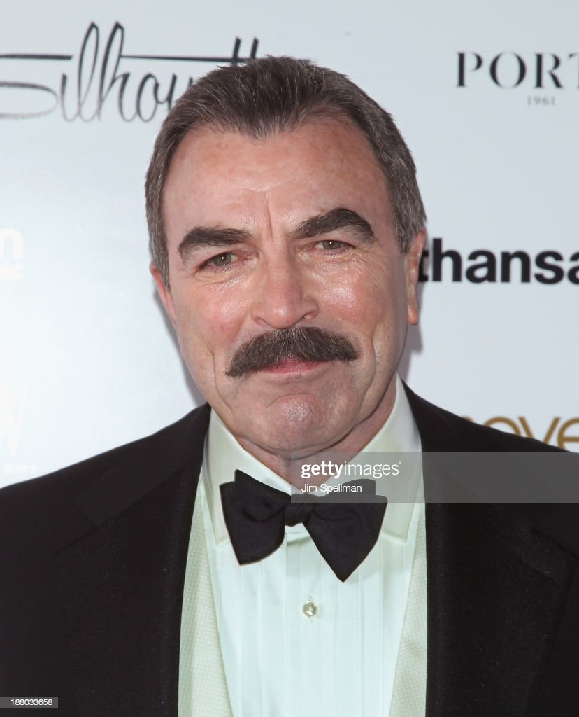 Actor Tom Selleck attends the New York Moves Magazine's 10th Anniversary Power Women Gala at the Grand Hyatt New York on November 14, 2013 in New York City.