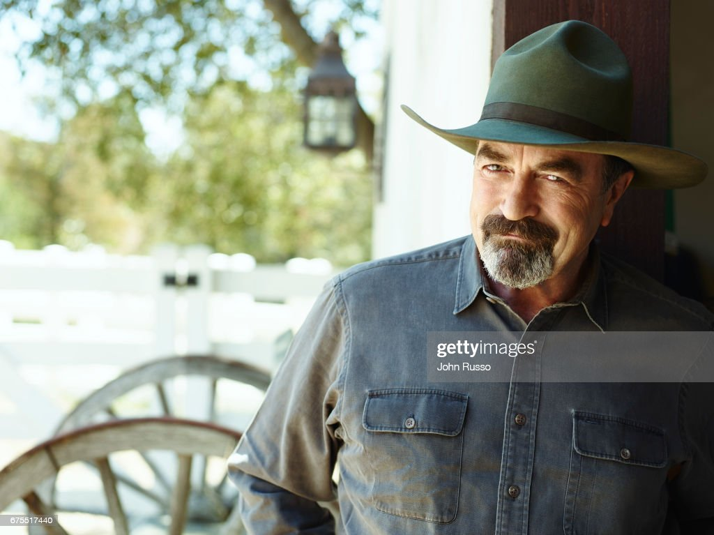 Actor Tom Selleck is photographed for AARP Magazine on June 1, 2015 in Thousand Oaks, California.
