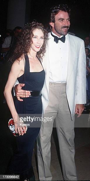 Actor Tom Selleck with his wife Jillie circa 1992