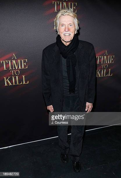Actor Tom Skerritt attends the after party for the Broadway opening night of 'A Time To Kill' at Bryant Park Grill on October 20 2013 in New York City