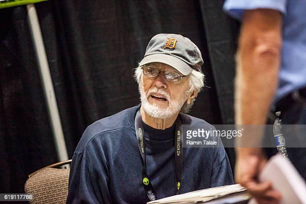 Actor Tom Skerritt signs autographs at Alien Con 2016 on October 28 2016 in Santa Clara California