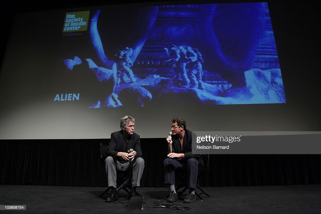 Actor Tom Skerritt (L) who played the character Captain Dallas in the 1979 Sci-Fi Horror attends the 'Alien' Screening and Q&A held during Fasten Your Seatbelts: 75 Years of 20th Century Fox held at The Film Society of Lincoln Center on September 5, 2010 in New York City.
