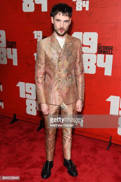 Actor Tom Sturridge attends the '1984' Broadway opening night after party at The Lighthouse at Chelsea Piers on June 22 2017 in New York City