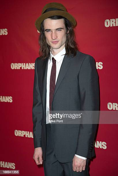 Actor Tom Sturridge attends the after party for the Orphans Broadway opening night at Espace on April 18 2013 in New York City