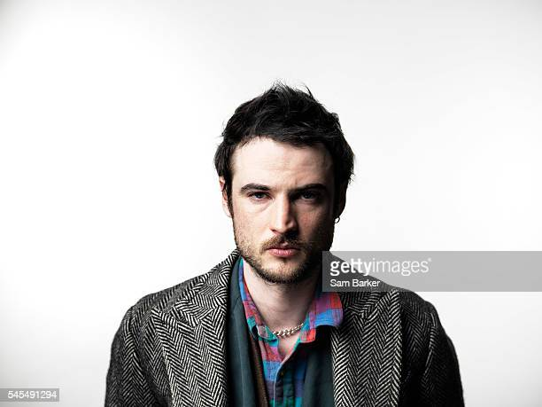 Actor Tom Sturridge is photographed for the Sunday Times magazine on April 1 2016 in London England