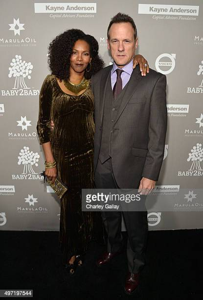 Actor Tom Verica and Kira Arne attend the 2015 Baby2Baby Gala presented by MarulaOil Kayne Capital Advisors Foundation honoring Kerry Washington at...